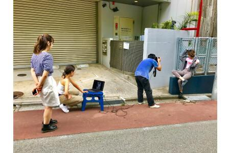 人気ファッション雑誌【ナイロン】の撮影会に参加