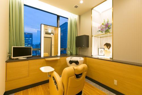 全室個室なので、落ち着いた空間で、お客様にしっかり向き合える環境です。